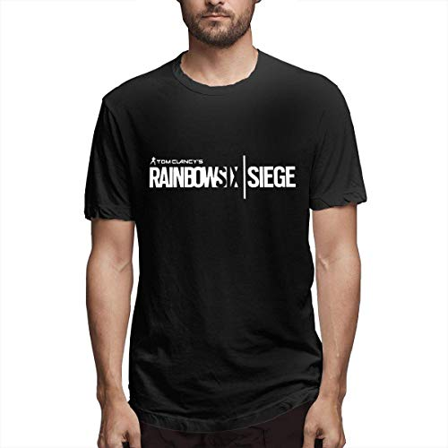 Athletic Shirts & Tees Oberteil und Bluse, Rainbow Six Siege T Shirt for Man Tees