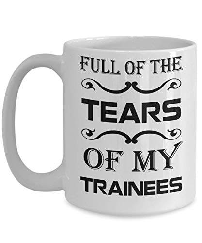 shenhaimojing Air Traffic Controller Mug - Full of The Tears of My Trainees - Plane Coffee Mug, Funny, Cup, Tea, Gift for Christmas, Father's Day, Xmas, Dad, Annive