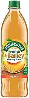 Robinsons Fruit and Barley Peach Squash No Added Sugar, 1 Litre
