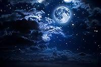 東宝 タペストリー 横幅150cm×縦幅100cm 夜空 満月 星空 雲 夜 景色 おしゃれ プレゼント サプライズ クラシック 雑貨 気分 インテリア 壁掛け 壁飾り 暖簾 ホリデーパーティー 雰囲気転換