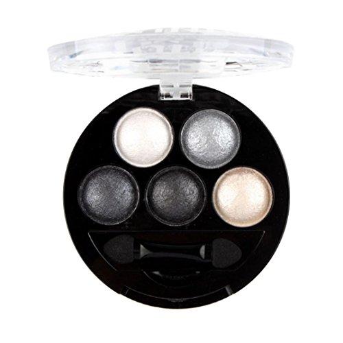 FAMILIZO Maquillaje de ojos profesionales del pigmento de sombra de ojos paleta de sombra de ojos #5