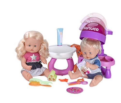 Nenuco 700013674–Puppe–Bruder und Schwester Chez Le Coiffeur