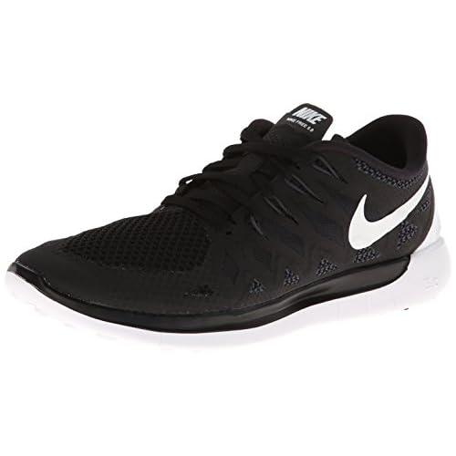 Nike - Wmns Nike Free 5.0, Scarpe Da Corsa da donna, Pink Pow/Black-Polarized Pink, 36.5