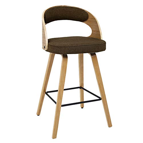 TYUIY Modern Style Bar Stools Counter Chair, Breakfast Kitchen Counter Bar Stool Set, Cafe | Best Home Garden Chair | Indoor and Outdoor Use-A4