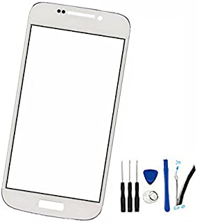 Front Screen Outer Glass Lens Replacement for Galaxy S4 Zoom C101 (Not LCD and Not digitizer) White