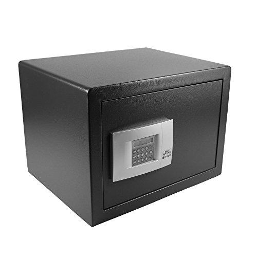 BURG-WÄCHTER Möbeltresor mit elektronischem Zahlenschloss, Point-Safe, 38,8 l, 20,5 kg, P 3 E, Schwarz