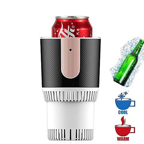 12 V mini-koelkast, draagbaar, elektrisch, voor de zomer, voor dranken, onmiddellijke koeling, auto, huis, koelkast, vriezer, dranken, bier, wijnkoeler (kleur: wit)
