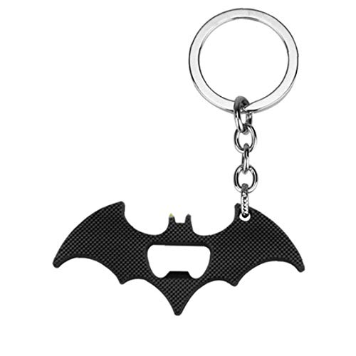 AMOYER Flaschenöffner Mit Bat Form Tragbarer Schlüsselanhänger Kreativen Karikatur-Anhänger 1 PC