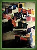 ポスター ピーター リンドバーグ VISIONAIRE(ヴィジョネアー) モホリ=ナジ・ラースロー 額装品 ウッドベーシックフレーム(グリーン)