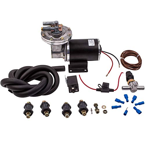 Electric Vacuum Pump Kit for Brake Booster 18' to 22', Includes...