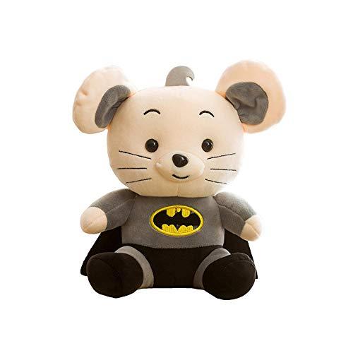 Superman Batman Mouse-batman Mouse_45cm Pluchen Speelgoed Heerlijk Pluche Cadeau Voor Familie En Vrienden Op Verjaardag