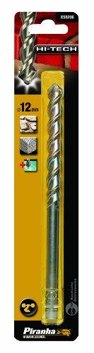 Piranha Hi-Tech Masonry Drill Bit, 12 mm