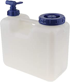 Prettyia Plastic Garden Camping Caravan Water Carrier Jerry Can Container with Tap