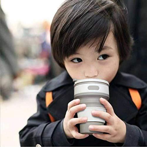 Lancy『折りたたみ携帯シリコンカップ』