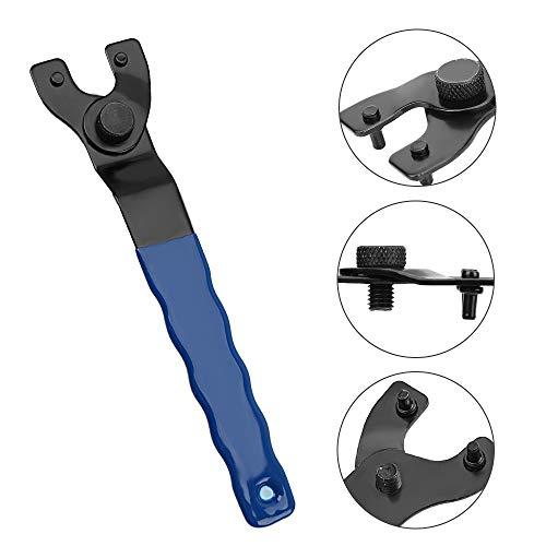 Verstellbarer Winkelschleifer Schlüssel Pin Schraubenschlüssel Reparatur Werkzeug Handwerkzeuge Starker Griff Kunststoff Werkzeug Zubehör Pin Schraubenschlüssel