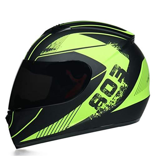 Hombres Y Mujeres Casco Integral De Invierno Cascos De Motocicleta Cascos A Prueba De Viento Anti Niebla Al Aire Libre Anti Choque Descenso Moto Motocicleta Gorras