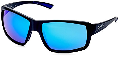 Smith Herren Fireside Z0 003 62 Sonnenbrille, Schwarz (Matt Black/Bl Blue)