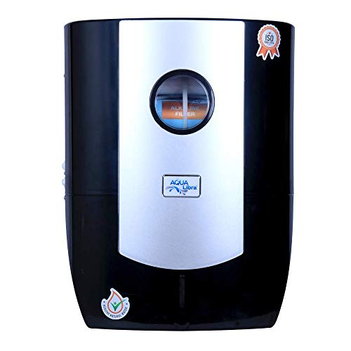 Aqua Libra Water Purifier RO+UV+UF+ TDS Controller Water Purifier (Black Silver) Water Filter for Home for Kitchen 11 LITERS (Made in India) BCM