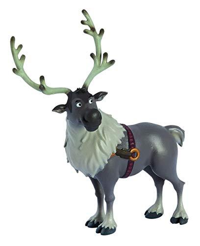 Bullyland 13514 Spielfigur Walt Disney Frozen 2, Sven, ca. 12 cm groß, liebevoll handbemalte Figur, PVC-frei, tolles Geschenk für Jungen und Mädchen zum fantasievollen Spielen