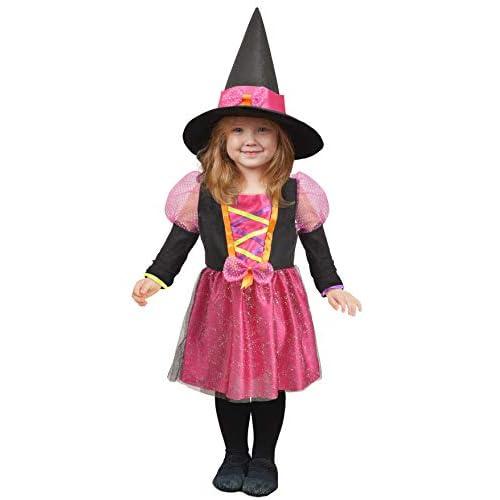 Ciao-Streghetta Costume Baby (Taglia 2-3 Anni), Multicolore, 28041.2-3