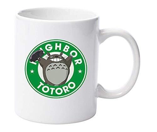 My Neighbor Totoro Starbucks Parodie Tasse Anime Tasse Geschenk Lustig