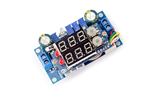 MPPT Solar Panel Controller 5A DC-DC Step-down CC/CV Charging Module LED Display for Arduino-stuff Prototyping DIY