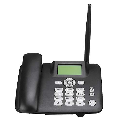 ILS - Teléfono inalámbrico 4G inalámbrico GSM Teléfono de mesa tarjeta SIM Teléfono de mesa Teléfono de mesa Teléfono de mesa