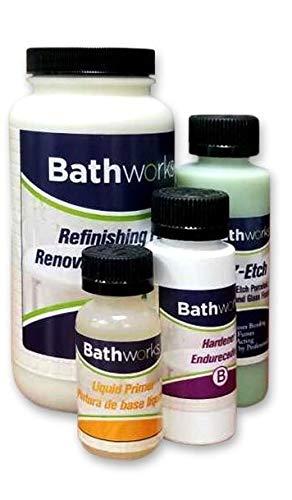Bathworks DIY Sink Refinishing Kit (BLACK)