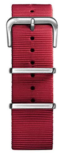 Oxygen Unisex Nylon rot Pin Schnalle, 22 cm