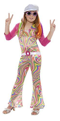 Smiffys Disfraz de glamurosa Guay, con Enterizo, cinturón, Chaqueta y Gorra