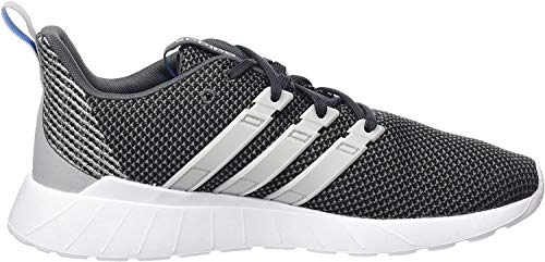 adidas Herren Questar Flow Leichtathletik-Schuh, Grau Grey Six Grey Two F17 True Blue Grey Six Grey Two F17 True Blue, 44 EU