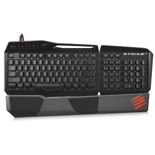 Mad Catz MCB43112N0C2/04/1 S.T.R.I.K.E. 3 Gaming Keyboard for PC