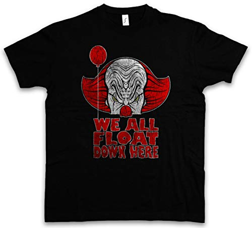 ouy we allemaal drijven hier T-Shirt Clown Pennywise Stephen koning het ballonschip