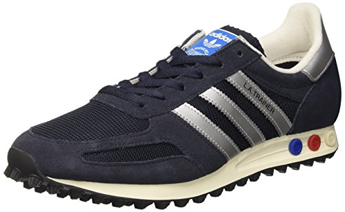 adidas La Trainer Og, Scarpe da Ginnastica Basse Unisex-Adulto, Blu (Legend Ink/Matte Silver/Night Navy), 36 EU