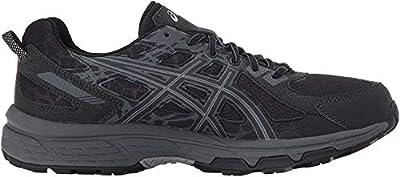 ASICS Men's Gel-Venture 6 Running Shoe, Black/Phantom/Mid Grey, 11.5 Medium US