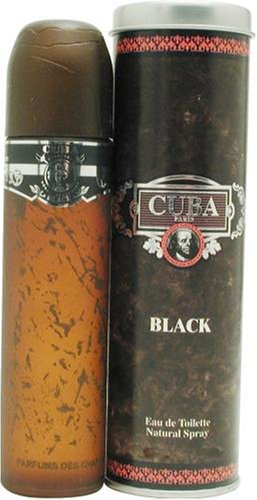 Cuba Black By Cuba For Men. Spray 3.3 Ounces