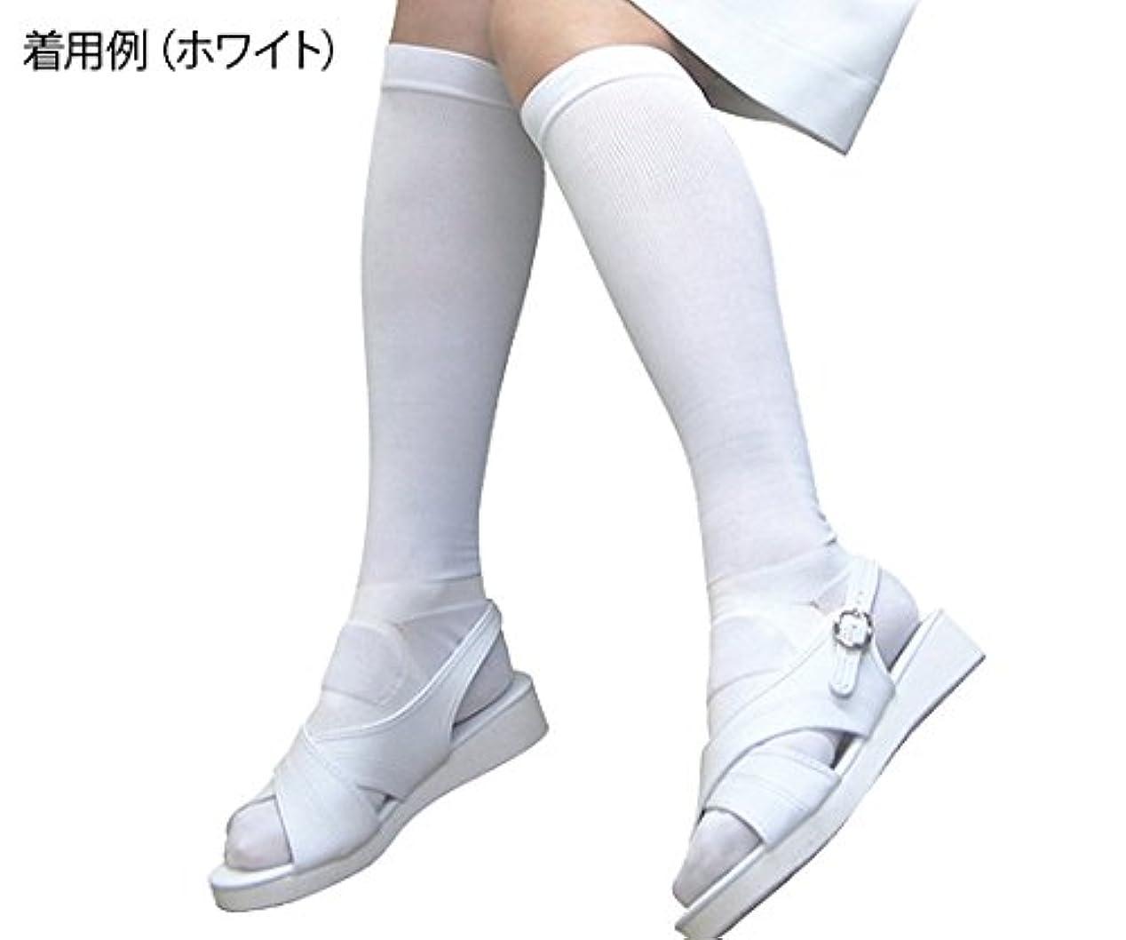 役に立つ中毒透過性足もとソリューション女性用 白 Sサイズ  /8-6564-01