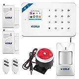 KERUI W18 - Alarma para casa con sistema de alarma antiintrusión y unidad central de alarma