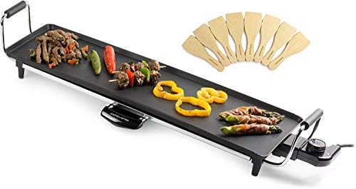 Andrew James Teppanyaki Electric Grill Plate | Large...