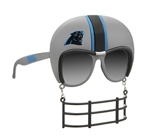 Rico SUN0801 Panthers Novelty Sunglasses, One Size, Gray