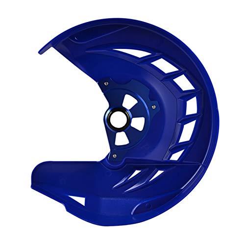Gzcfesbn Cubierta de Guardia de Disco de Freno Delantero de Motocicletas for Husqvarna Te/FE 125-501 2016-2020 TX/FX 125-450 2017-2020 Durable (Color : Blue)