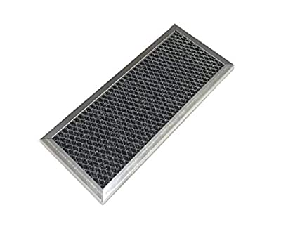 OEM Samsung Microwave CHARCOAL Filter Shipped With ME18H704SFW, ME18H704SFW/AA, ME18H704SFW/AC, ME20H705MSB, ME20H705MSB/AA