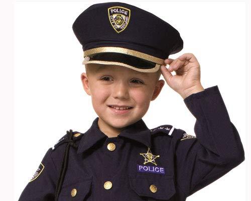 Dress Up America Pretend Play Police Hat pour les enfants