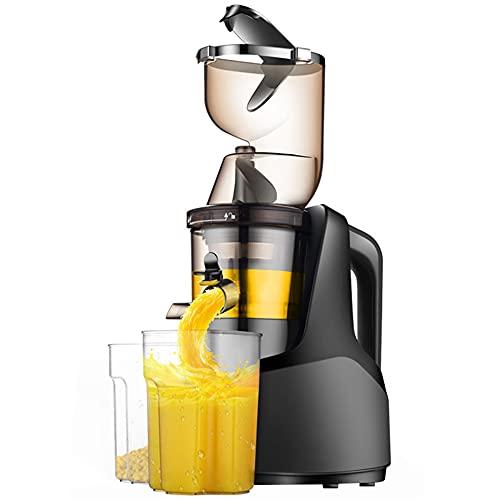 Extractor de zumos, 250W,Licuadora Prensado en Frío. Separación de jugo de escoria de máquina de jugo,Máquina automática de jugo para freír frutas y verduras