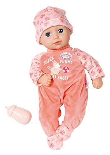 Zapf Creation 702956 Baby Annabell Little Annabell Puppe mit weichem Stoffkörper und Schlafaugen 36 cm, rosa
