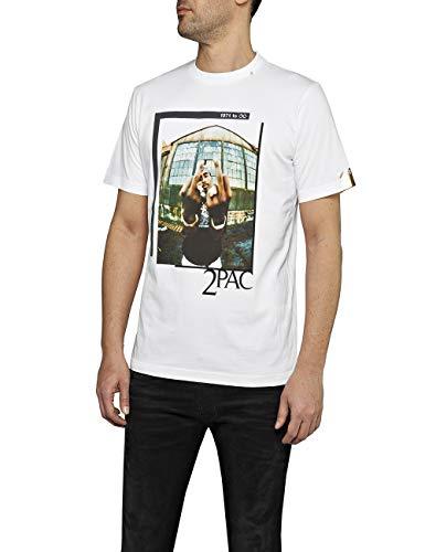 REPLAY M3946d.000.22628 Camiseta, (White 1), XX-Large para Hombre