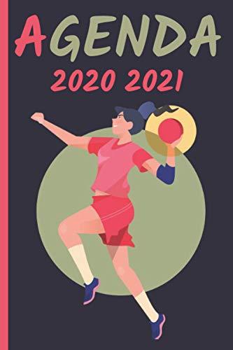 Agenda Handball 2020-2021: Agenda Escolar Handball | primaria Colegio secundaria estudiante semana vista | calendario planificador semanal formal A5 | ... de 2020 a septiembre de 2021 para niño niña