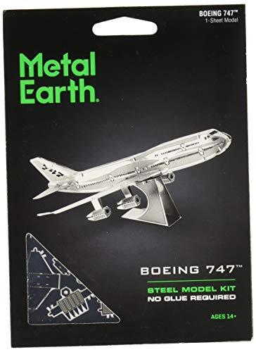 Metal Earth - 5061004 - Maquette 3D - Aviation - Boeing 747 - 10 x 7,6 x 2,7 cm - 1 pièce