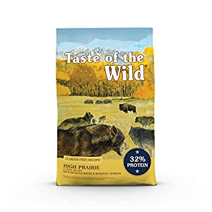 Taste of the Wild Dry Dog Food With Roasted Bison And Roasted Venison