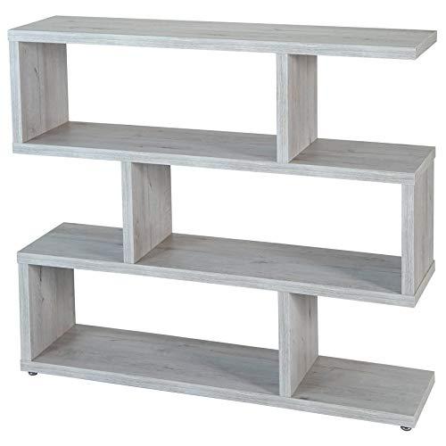 TopKit 6311MOZ Zig Zag Florida 6311 planken, mozart, hoge dichtheid spaanplaat en melamine met grote krasbestendigheid, 28 x 110 x 98 cm